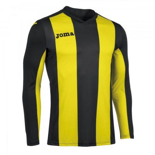 Joma Pisa Long Sleeve Jersey Black/Yellow