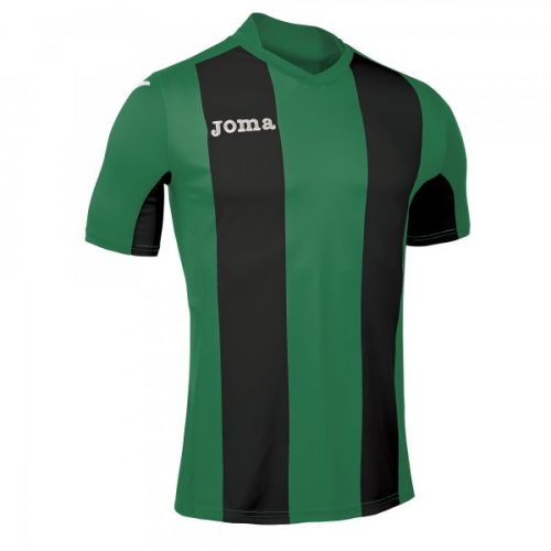 Joma Pisa Short Sleeve Jersey Black/Green