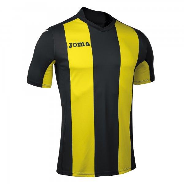 Joma Pisa Short Sleeve Jersey Black:Yellow