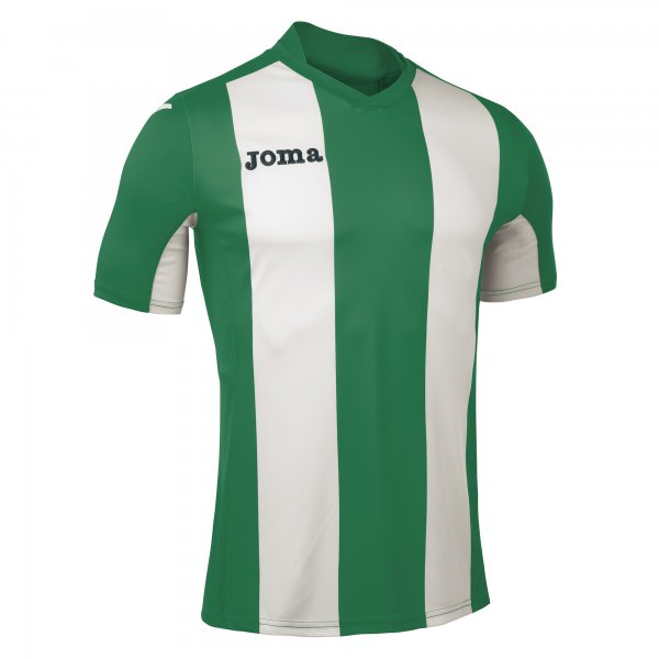 Joma Pisa Short Sleeve Jersey Green:White