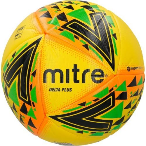 Mitre Delta Plus Ball Yellow