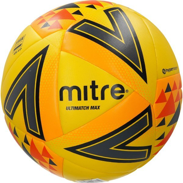 Mitre Ultimatch Max Ball Yellow