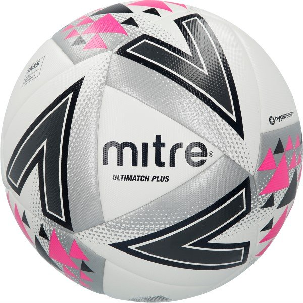 Mitre Ultimatch Plus Ball - White