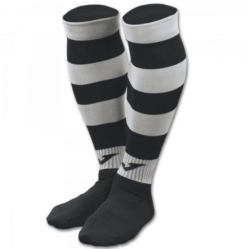Zebra II Football Socks Black:White