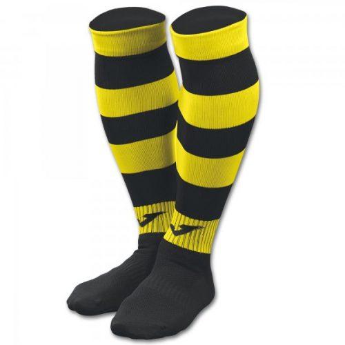 Zebra II Football Socks Black/Yellow