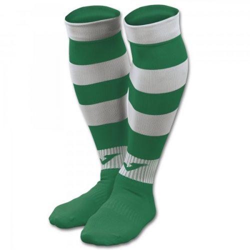 Zebra II Football Socks Green/White
