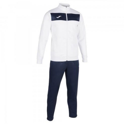 Joma Academy II Tracksuit White/Navy