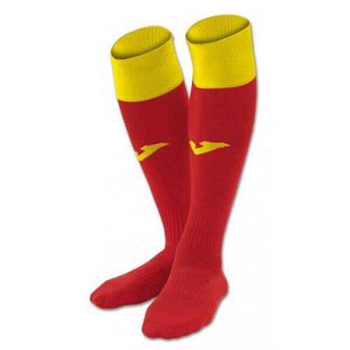 Joma Calcio 24 Football Socks Red/Yellow