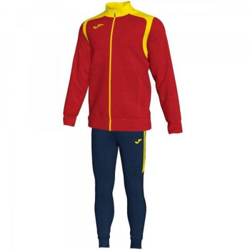Joma Championship V Tracksuit Red/Yellow