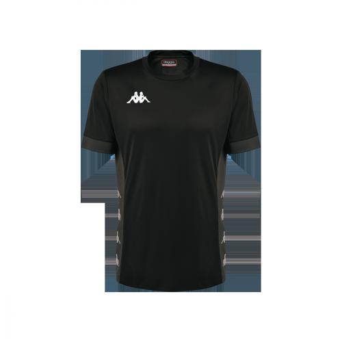 Dervio Match Shirt Black