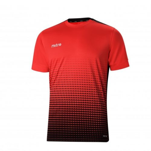 Ascent T-Shirt Red & Black