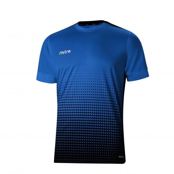Ascent T-Shirt Royal & Black