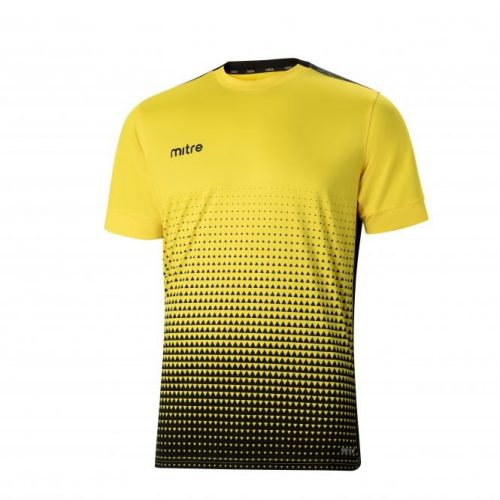 Ascent T-Shirt Yellow & Black