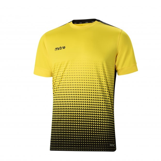 Ascent T-Shirt Yellow & Black