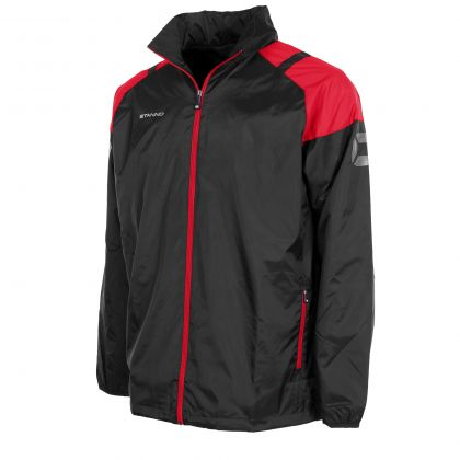 Centro All Weather Jacket Black & Red