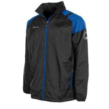 Centro All Weather Jacket Black & Royal