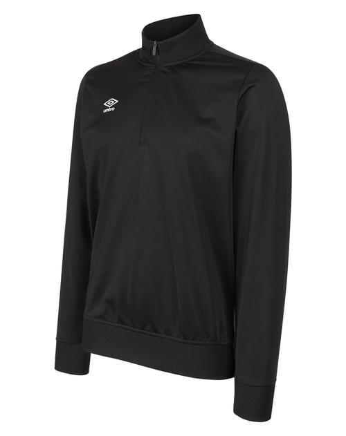 Club Essential 1/2 Zip Jumper Black
