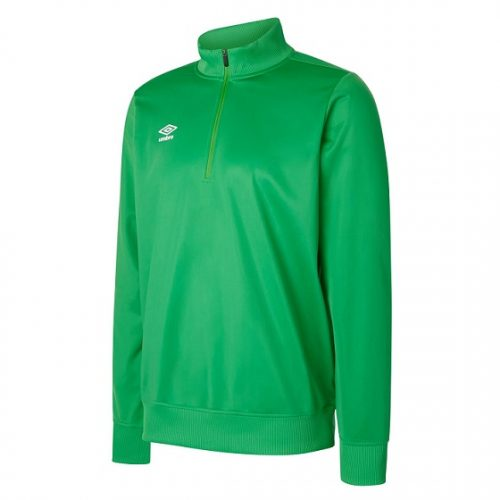 Club Essential 1/2 Zip Jumper Emerald
