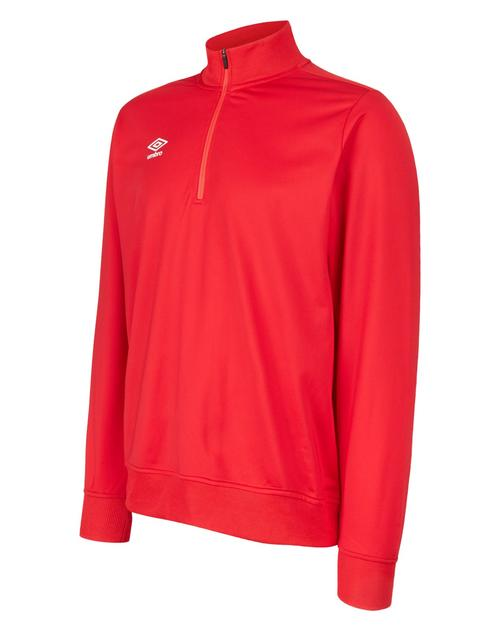 Club Essential 1/2 Zip Jumper Red