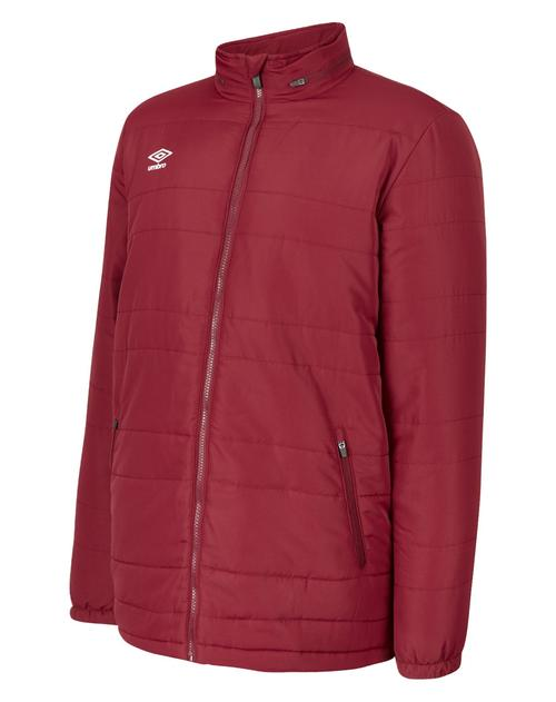 Club Essential Bench Jacket Claret