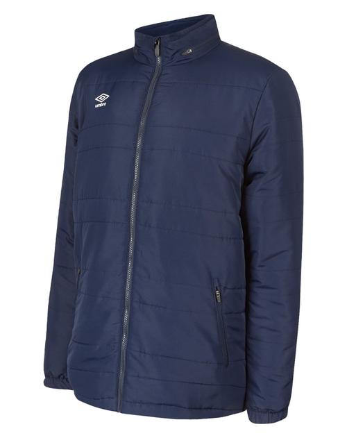 Club Essential Bench Jacket Navy