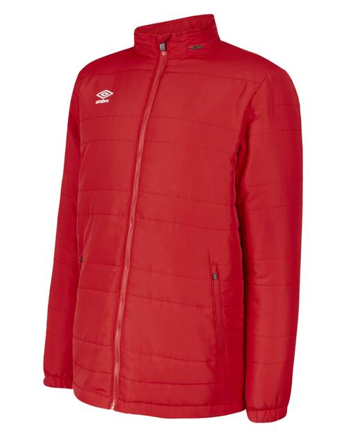 Club Essential Bench Jacket Red
