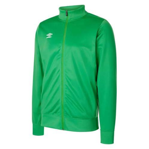 Club Essential Poly Jacket Emerald