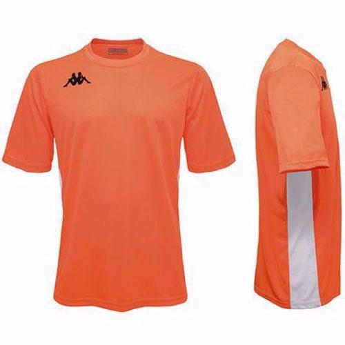 Wenet Match Shirt Orange