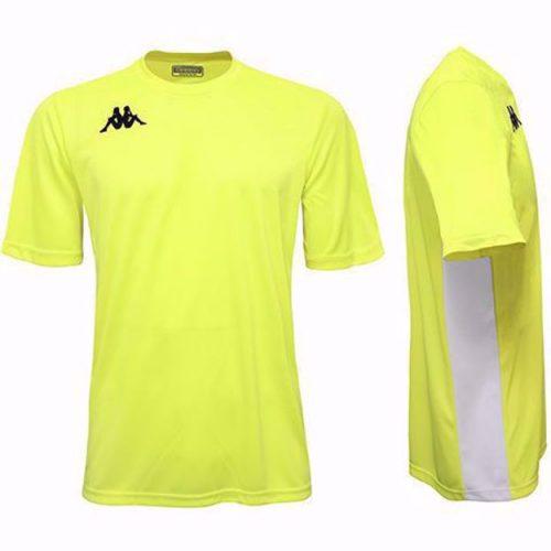 Wenet Match Shirt Yellow