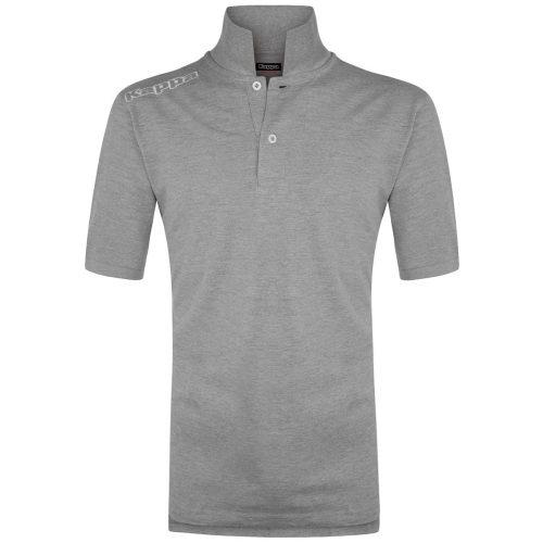 Logo Golf Shirt Grey