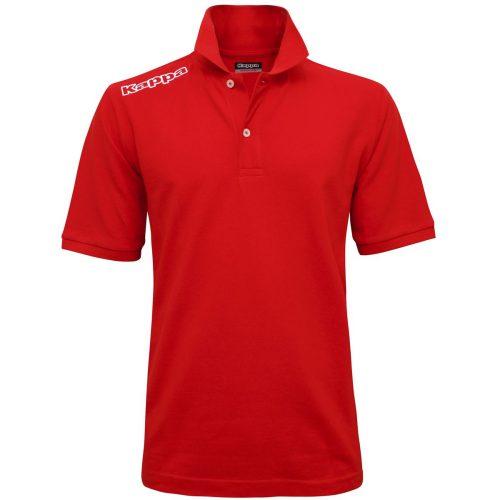 Logo Golf Shirt Red