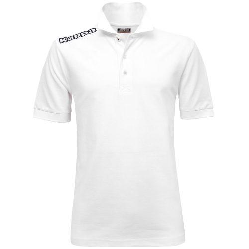 Logo Golf Shirt White