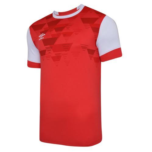 Vier Jersey Red & White