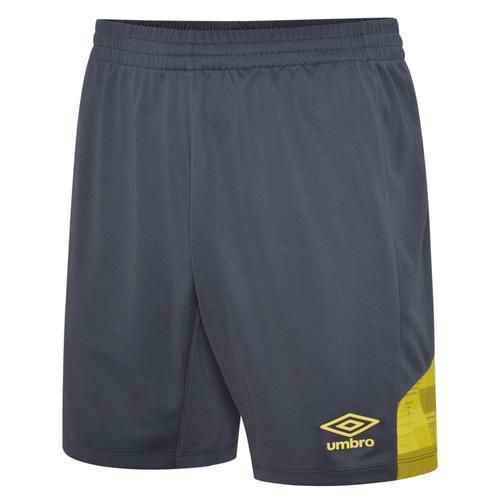 Vier Shorts Carbon & Yellow