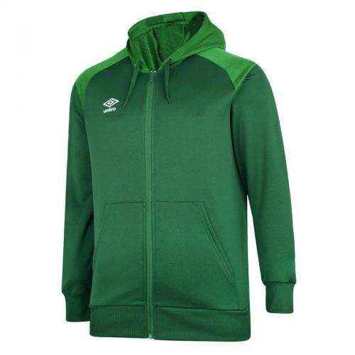 Zipped Hoody Emerald