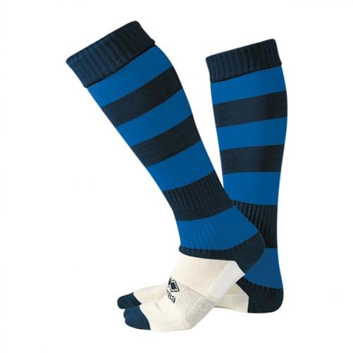 Zone Socks Black & Blue Striped