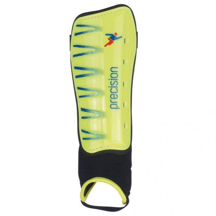 Precision Pro Shin & Ankle Pads yellow