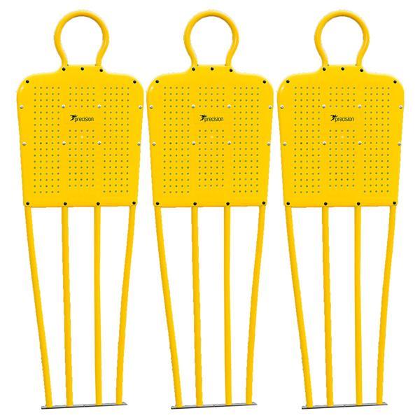 "Mannequin 6"" Set of 3 in Yellow"