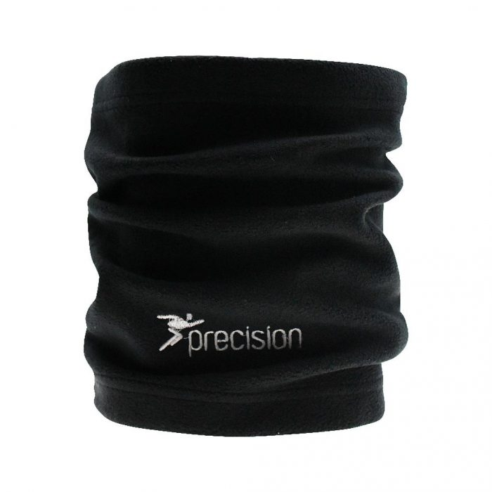 precision neck warmer black