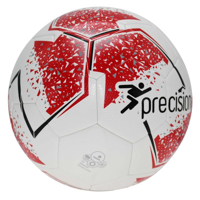 Precision Fusion IMS Training Ball White Red