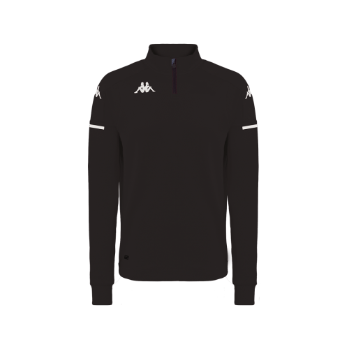Kappa ablas quarter zip black