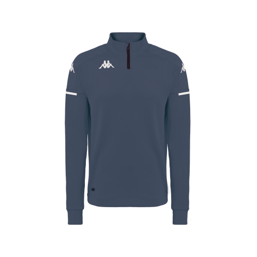 Kappa ablas quarter zip grey