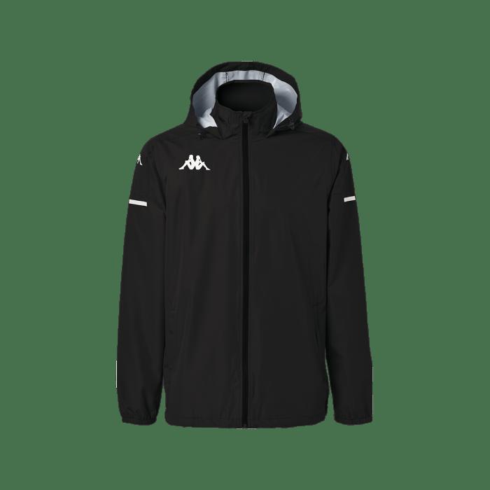 kappa adver zip black
