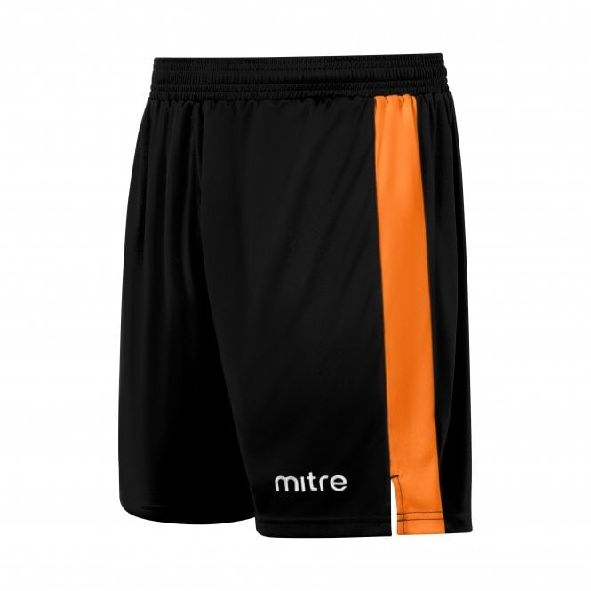 mitre amplify shorts Black and orange