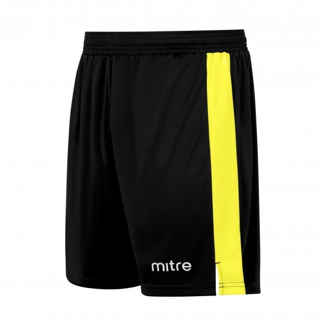 mitre amplify shorts Black and yellow