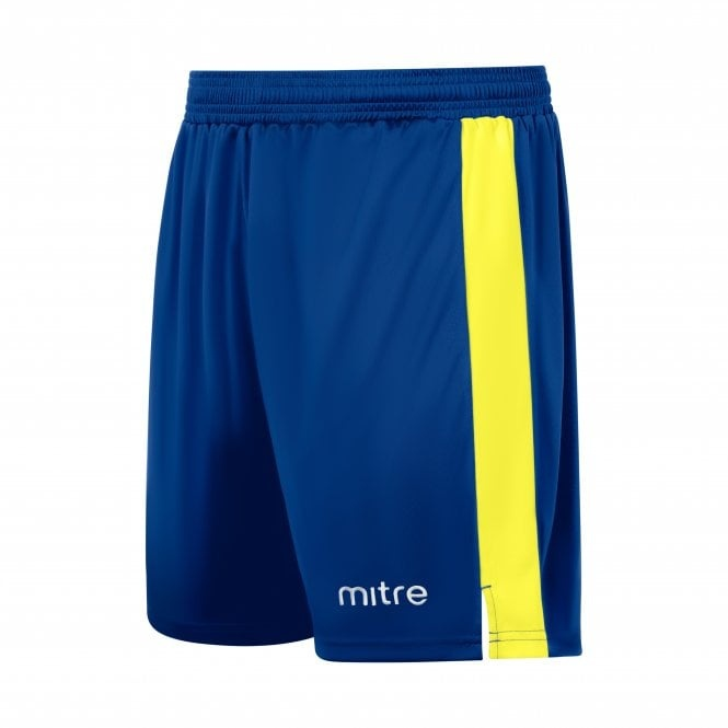 mitre amplify shorts Blue and yellow