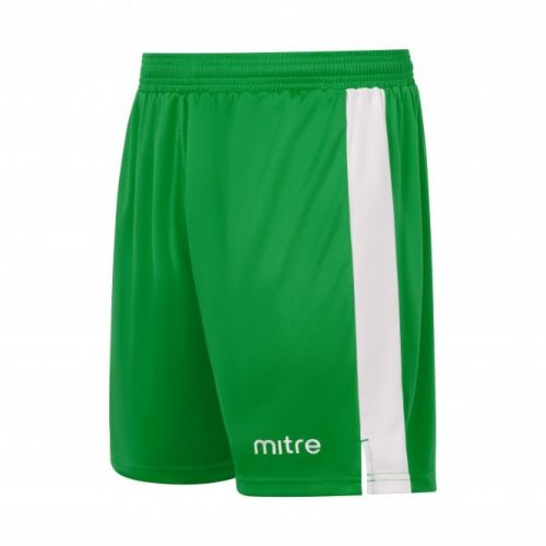 mitre amplify shorts green and white