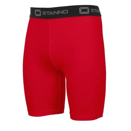 stanno centro fitted shorts red