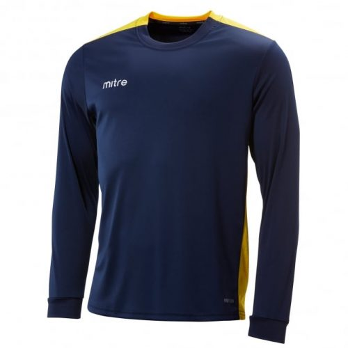 mitre charge ls navy and yellow