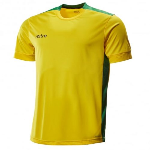 mitre charge yellow and green